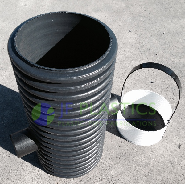 300mm silt trap complete with bucket